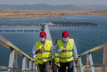 Acciona Inaugurates First Grid-Connected Floating PV Plant in Spain