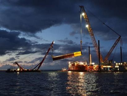 Construction Begins on Wind Farm Fryslân in the IJsselmeer