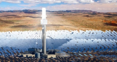 SolarReserve Signs MOU with Heliostat for Aurora Project in South Australia