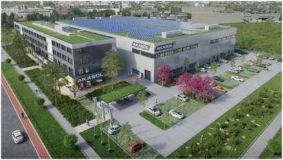 AKASOL Building New Headuqarters inDarmstadt