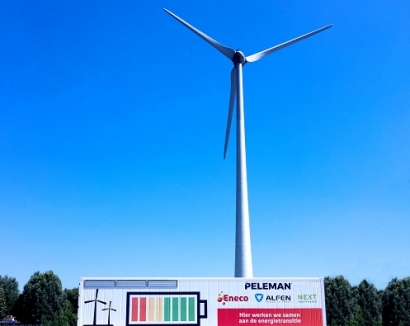 Alfen Supplies Energy Storage System to Eneco in Belgium
