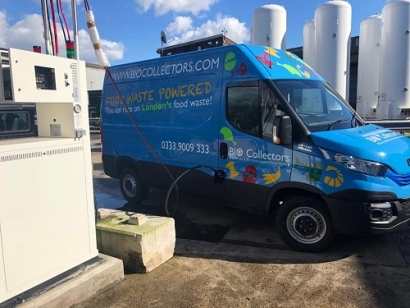 New Biogas Powered Fleet for UK