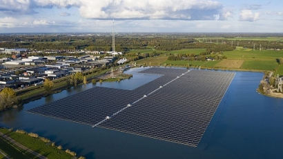 BayWa r.e. Builds Netherland's Largest Floating Solar Farm
