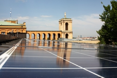 Bavarian Parliament Building Goes Solar
