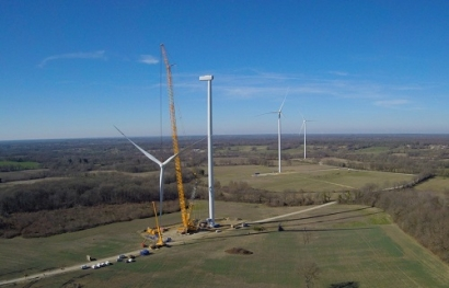 BayWa r.e. Installs the Tallest Wind Turbines in France