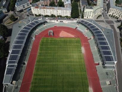 Solar Energy for Olympic Stadium in Oslo