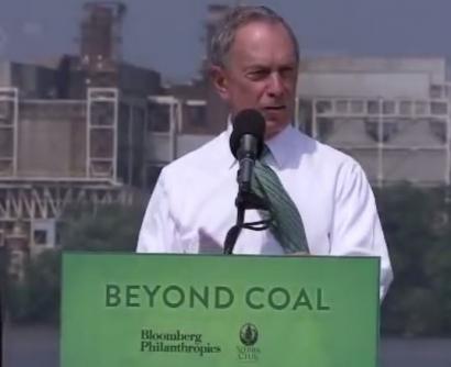 Michael Bloomberg Pledges $64 Million for Anti-Coal, Pro-Renewables Initiatives