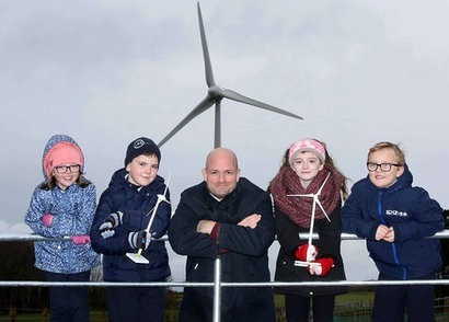 Gaelectric officially opens £13.4 million Cloonty Wind Farm in County Antrim