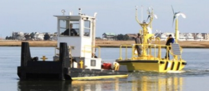 Research Buoy for Wind Farm Launched off New Jersey Coast