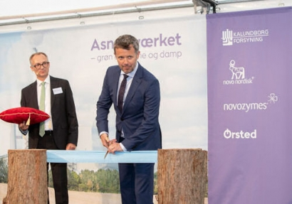 Asnæs Power Station Inaugurated by Denmark's Crown Prince