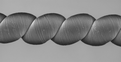 Energy-Harvesting Twistron Yarns Generate Electricity
