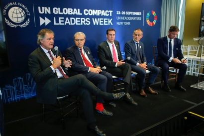 Entrecanales Speaks at United Nations' 2019 Climate Action Summit in New York