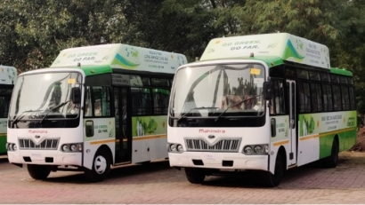 Agility Fuel Solutions Makes History in India with Long Distance CNG Buses