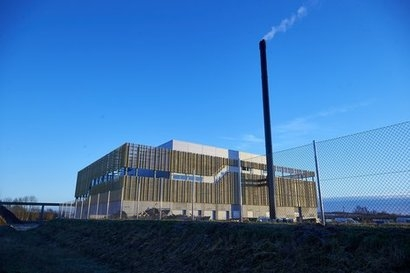 Aalborg CSP solar system supports new green energy facility opened in Denmark