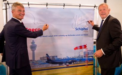 Major Dutch Aviation Group to Be Powered by Renewable Energy