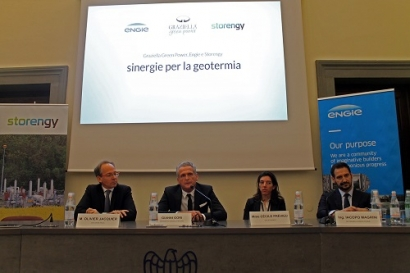 Engie, Storengy and Graziella Green Power Partner on European Geothermal Plant