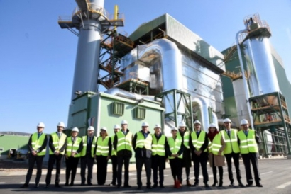 Ence Inaugurates Biomass Plant in Puertollano, Spain