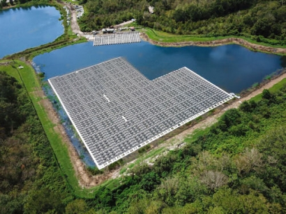 Largest Floating Solar Power Plant in the Southeast Coming to Fort Bragg