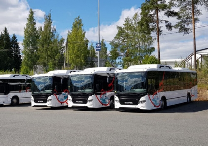 Vekka Group's Biogas-Powered Buses Introduced in Hämeenlinna, Finland