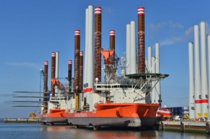 Fred. Olsen Windcarrier Awarded First Contract in Taiwan