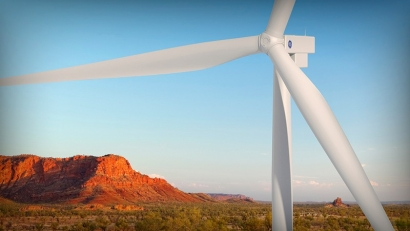 Commissioning Complete at Bluff Point Wind Energy