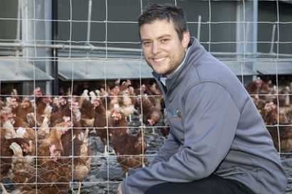 Underfloor Heating from Green Energy Keeps Hens Laying