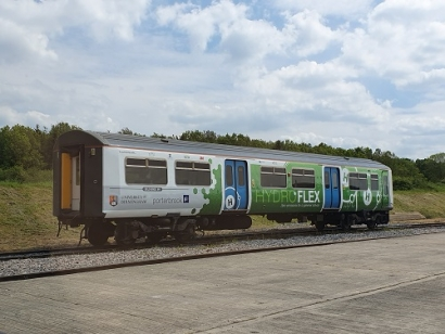 The UK's First Hydrogen Train Unveiled