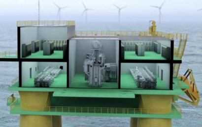Hitachi ABB Power Grids Launches Transformers for Floating Offshore Wind