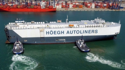 Höegh Autoliners Completes its First Carbon Neutral Voyage