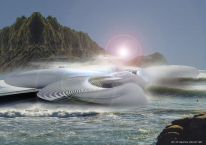 Futuristic Hotel Will Harness the Tides to Produce Energy