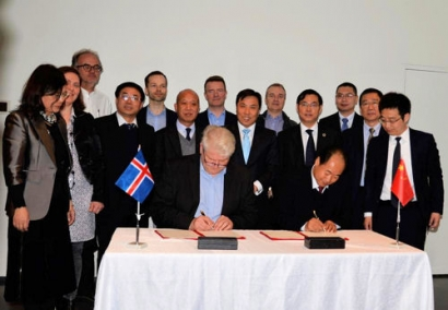 Iceland and China to Cooperate on Geothermal Research and Training