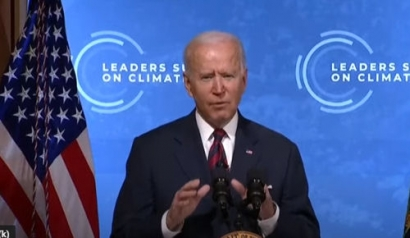 Biden Sets 2030 Greenhouse Gas Pollution Reduction Target at Earth Day Climate Summit
