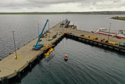 Mocean Energy Blue X Arrives In Orkney