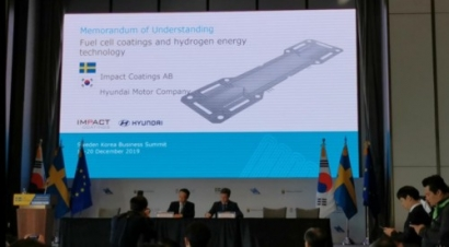 Impact Coatings and Hyundai Sign MoU