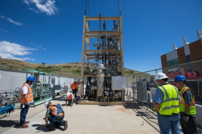 First US Biomethanation Reactor System for Power-to-Gas Testing Installed in Colorado