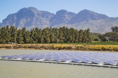 New Southern Energy Installs First Commercial Floating Solar Farm in Africa