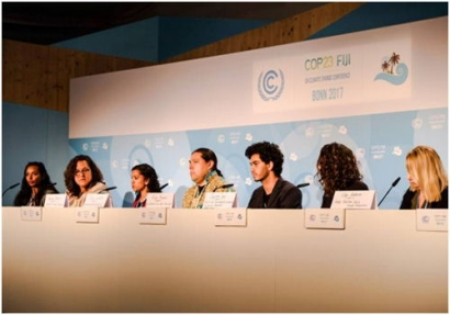U.S. People's Delegation Presents Platform at COP23