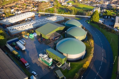 WELTEC Customer uses Biomethane as Truck Fuel