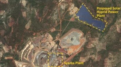 New 40MW Solar Hybrid Power Plant for Syama Gold Mine in Africa