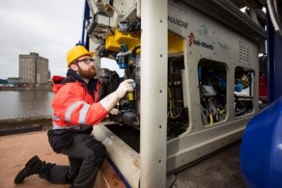 University of Limerick Launches Underwater Robot