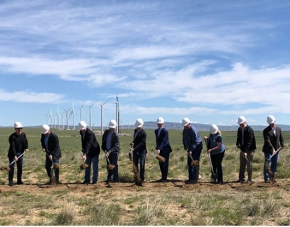 Rocky Mountain Power Breaks Ground on Energy Vision 2020 Wind Project