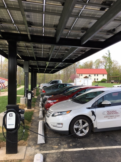 Fast-tracking EVs to Speed up the Developments of Solar Carport Charging Stations