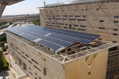 German Jordanian University Installs Solar Panels