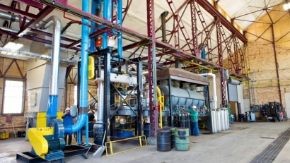 Renewable Energy Lab Delivers Solid Biofuel