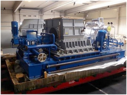 Auction of four unused condensation steam turbine plants