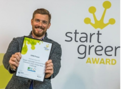SINN Power Wins Cleantech Open Global Ideas Challenge