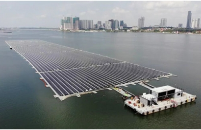 Sunseap Completes One of World's Largest Floating Solar Farms