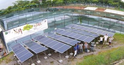 Sunseap and Hoppecke Partner on Solar System for Tennis Academy