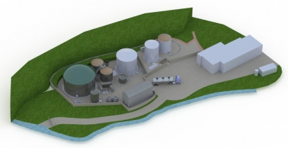 Clearfleau Building New Biogas Plant in Scottish Highlands