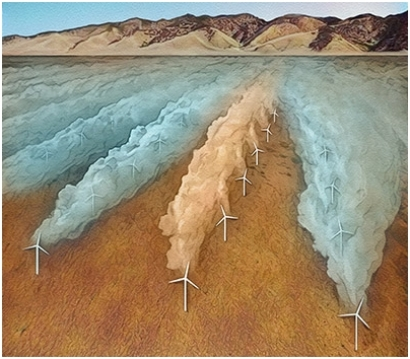 Stanford Researchers Show Skewing Turbines Boosts Farm Output